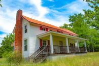 Two-Story Farmhouse with 100 Acres on Fairforest Creek